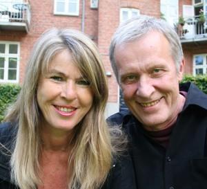 Psykoterapeuterne Anne Thinggaard og Finn Toftlund
