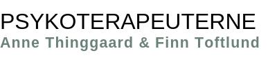 Psykoterapeuterne Thinggaard og Toftlund Logo